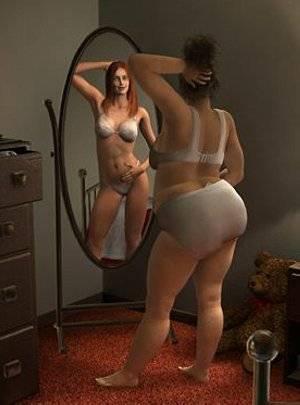 самые толстые голые фото