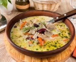 Суп из кролика с вермишелью