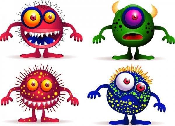бактерии для детей фото